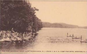 New Jersey Andover Camp Wawayanda Y M C A Camp For Boys Swimming Dock Artvue