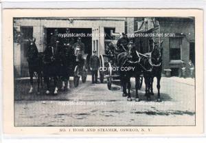 No. 1 Hose & Steamer, Oswego NY