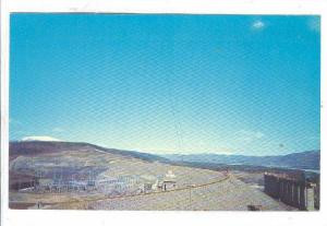 Looking West, Over The W. A. C. Bennett Dam, Peace River, Near Hudson´s Hope...