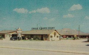TUCUMCARI , New Mexico , 1950-60s ; Circle S Ranch Court ; RT 66/ Route 66
