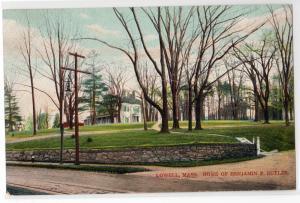 Home Benjamin F Butler, Lowell MA