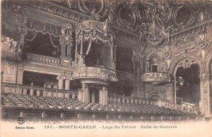 Loge du Prince Salle de Concert Monte Carlo Unused
