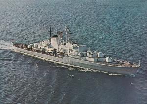 Schulschiff German Military Torpedo Ship Postcard
