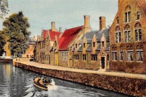 Belgium Brugge De Groene Rei, Quay Green, Quai Vert Boat