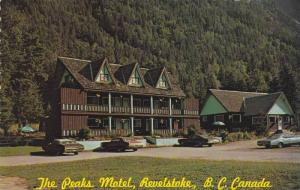 Exterior, The Peaks Motel,  Revelstoke,   B.C.,  Canada,  40-60s