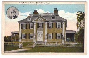 Logfellow`s Home, Cambridge, Massachusetts