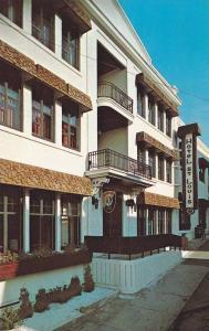 Exterior, Hotel St. Louis Inn,  Riviere-Du-Loup,  Quebec,  Canada,   40-60s