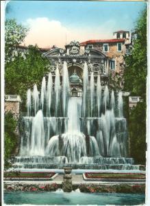 Italy, Tivoli, Villa d'Este, Fontana dell'organo idraulico, 1957 used