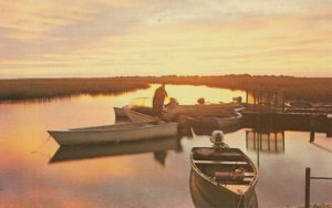 MYRTLE BEACH , South Carolina , 50-60s ; Fishing Dock , Murrell's Inlet