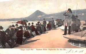 Sugar Loaf Mountain New York Postcard