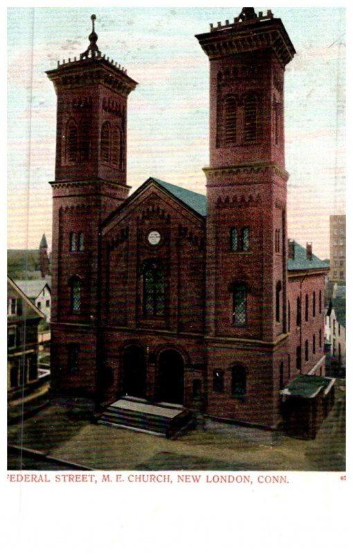 Connecticut  New London,  Federal Street M.E.Church