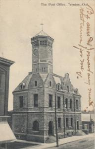 TRENTON , Ontario , Canada , 1908 ; Post Office #2