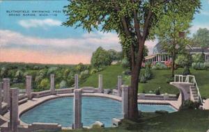 Michigan Grand Rapids Blythfield Swimming Pool 1946
