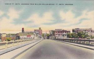 Arkansas Fort Smith View Of Fort Smith Arkansas From Million Dollar Bridge Al...