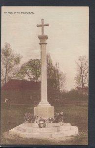 Essex Postcard - Rayne War Memorial     HP143