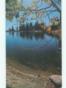 Pre-1980 LAKE SCENE Big Bear Lake California CA AE4237