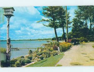 Pre-1980 LAKE SCENE Conway & Oden - Near Indian River & Petoskey MI F3015