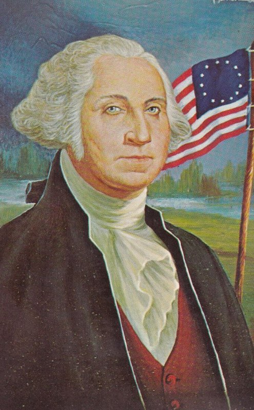 AS; MORRIS KATZ, 1967; George Washington 1st U.S. President
