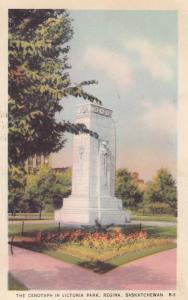 REGINA , Saskatchewan , Canada , 1930s ; Cenotaph , Victoria Park