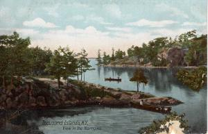 US    PC1820 VIEW IN THE NARROWS, THOUSAND ISLANDS, NY