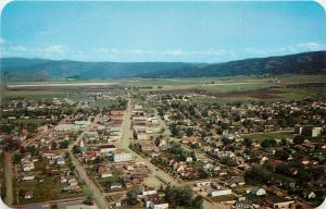 Vintage Postcard; Town View Grangeville ID on US 95, Idaho County, Unposted
