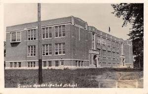 Gowrie Iowa~Consolidated School~Put Up 18 Jars Crabb Apple Jelly~1923 RPPC