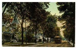 Canada - ON, Sarnia. Vidal Street South, Trolley