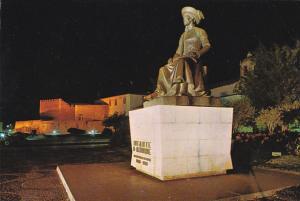 Portugal Lagos Monumento do Infante D Henrique Nocturno