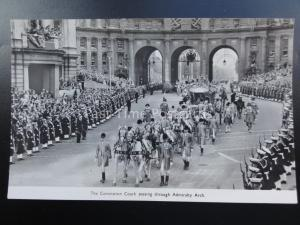 Royalty Queen Elizabeth ll CORONATION COACH Admiralty Arch 1953 RP by Photochrom