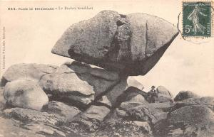 France Plage de Brignogan - Le Rocher tremblant 1907