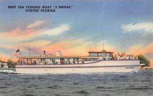 Deep Sea Fishing Boat Admiral Cortez, Florida