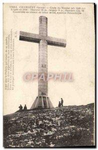 Old Postcard Chambery Cross Nivolet