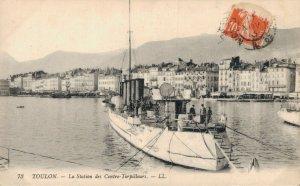 Nautica - Military Torpedo boat Toulon La Station des Contre Torpilleurs 03.30