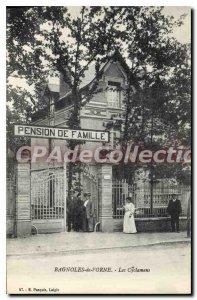 Postcard Old Bagloes the adorns Cyclamen