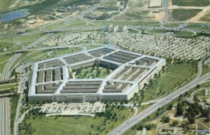 Postcard The Pentagon Arlington Virginia