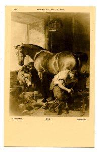 Farrier Shoeing a Horse    Artist: Sir Edwin Landseer