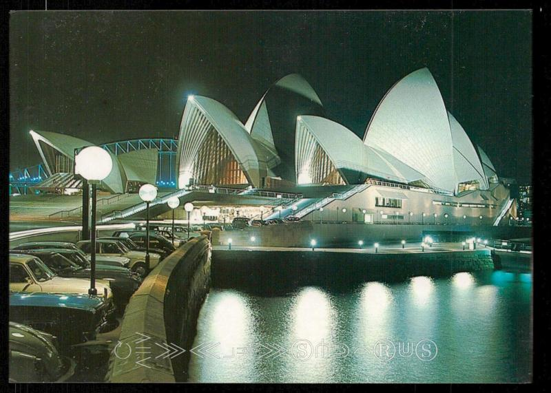 Sydney Opera House Floodlit
