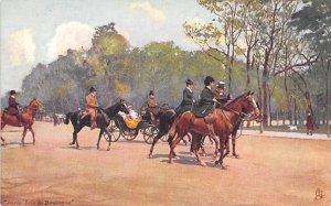 Paris, Bais de Boulogne Horse Unused