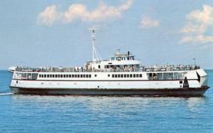 MA - Nantucket, Martha's Vineyard. Ferry Nantucket