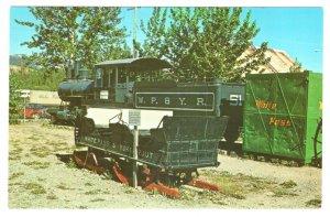 Railroad Steam Locomotive Sleigh Train, Museum, Whitehorse, Yukon Territories