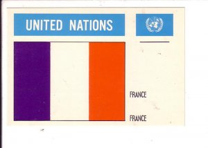 France, Flag, United Nations