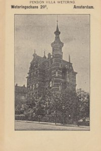 AMSTERDAM , Netherlands , 00-10s ; Pension Villa Wetering