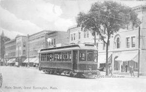 Main Street Great Barrington MA Unused