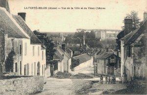 France La Ferté Milon Aisne Vue de la Ville et du Vieux Château 03.32