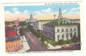 U. S. Mint And Colfax Avenue, Denver, Colorado, 1910-1920s