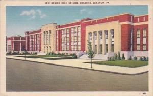 New Senior High School Building Lebanon Pennsylvania