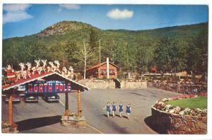 North Pole Gate, New York, 1950s unused Postcard