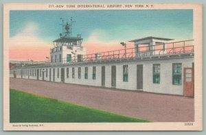New York City~Door Open to Control Tower~Int'l Airport~Idlewild Golf Course~1945