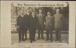 Doctors Dermatologists Dr. Oppenheim Vienna Austria c1910 MEDICAL RPPC