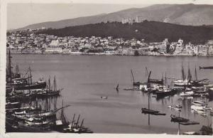 Spain Islas Baleares Harbour View Real Photo